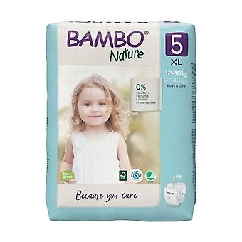T5 diapers (12-18 Kg) ECO 22 units
