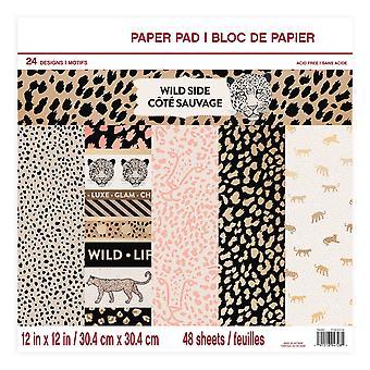 Craft Smith Wild Side 12x12 Inch Paper Pad