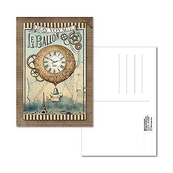גלויה 10x15cm מסעות פנטסטיקס בלון (ECARD003)