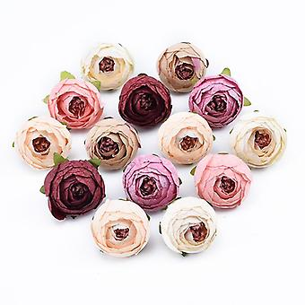 Decorative Artificial Wall Flowers For Wedding - Bridal Accessories Box