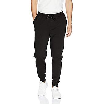 Goodthreads Men's Fleece Jogger Pant, Preto, XXX-Grande Alto