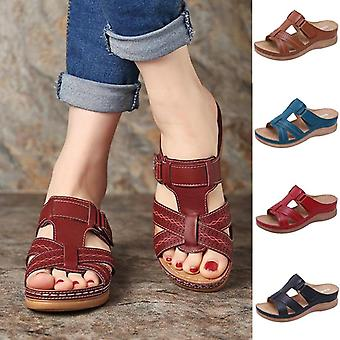 "Women""s Summer Open Toe ,comfy Sandals - Premium Orthopedic ,low Heels Walking"