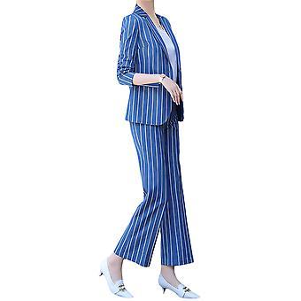 Kvinner Damer Slank Elegant Avslappet Stripete Forretningsarbeid Formell Dress