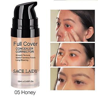 Face Cream Full Cover Makeup - Liquid Facial Corrector, Waterproof Cosmetics