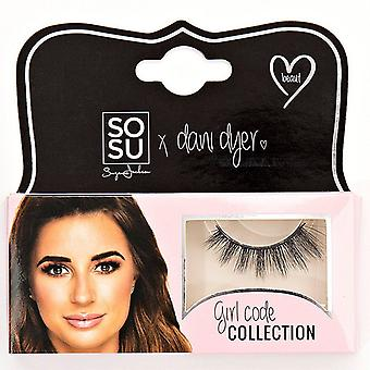 SOSU x Dani Dyer Girl Code Premium Valse Wimpers - Beaut - 3D Delicate Finish