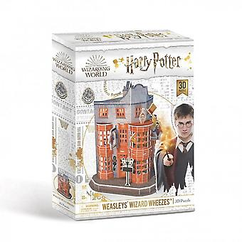 University games - weasley's wizard wheezes - harry potter 3d puzzle