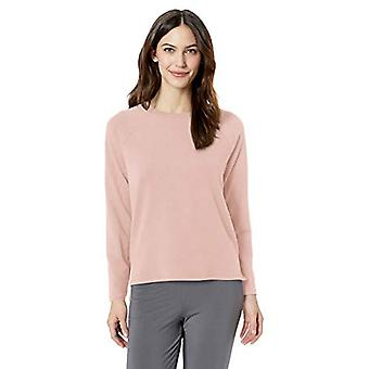 Brand - Mae Women's Standard Raglan Long Sleeve Top, lotus, SMALL