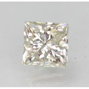 Sertifioitu 1,15 karat G VS1 Princess Enhanced Natural Loose Diamond 5.35x5.31mm