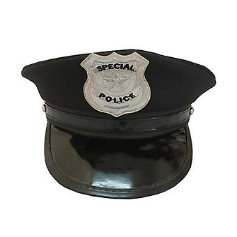 Octagon Police Cap Occupations- Classic Adults Police Military Hat Stage Show