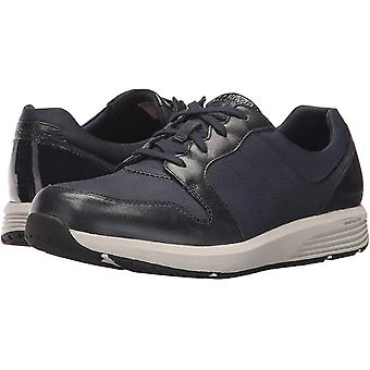 Rockport Womens derby trainer Leather Low Top Lace Up Fashion Sneakers