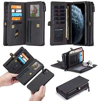 iPhone 12 and iPhone 12 Pro Case Black - Multi Wallet Case