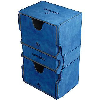Gamegenic Stronghold 200-Card Convertible Deck Box - Azul
