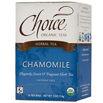 Choice Organic Teas Chamomile Herb Tea, 16 BAGS