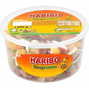 Haribo Tangfastics Party Size Drum 1kg