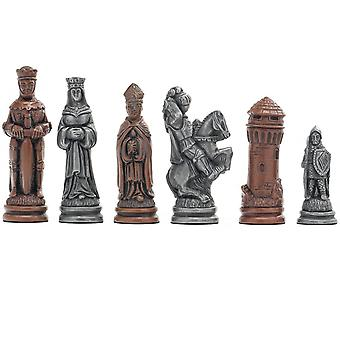 Berkeley Camelot de xadrez xadrez metálico homens