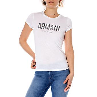 Armani exchange pixelate logo women t-shirt