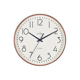 Acctim Earl Sweep Wall Clock Copper 22568