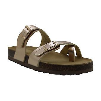 Kids Madden Girl Girls JBryceee Slip On Slide Sandals