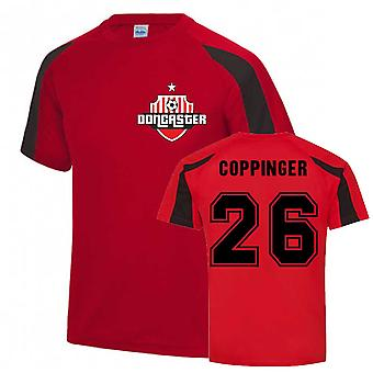 James Coppinger Doncaster Sports Training Jersey (Red)