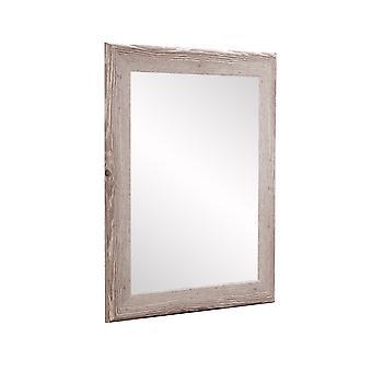 Farmhouse White Square Or Diamond Wall Mirror 32.5'' X 32.5''