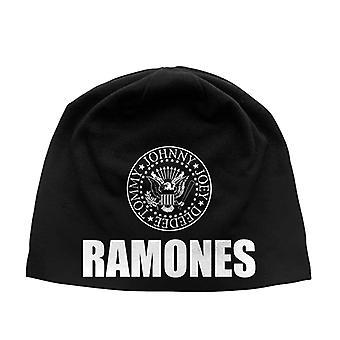 Ramones mössa presidentens sigill bandet logotyp nya officiella svart Jersey skriva ut