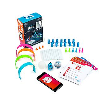 Sphero mini activity kit: app-controlled robotic ball and 55 piece stem learning construction set, p