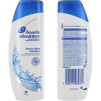 Head & Shoulders Anti-Dandruff Shampoo Classic Clean 200ml