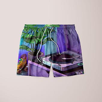 Vaporwave aesthetic shorts