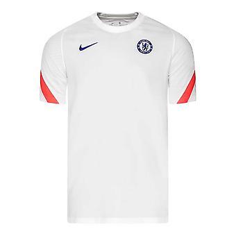 2020-2021 Chelsea CL Training Shirt (White)