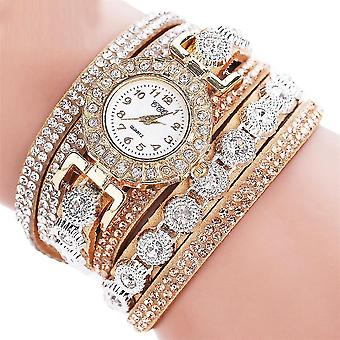 Luxury Fashion Casual Analog Quartz Rhinestone Bracelet Watch