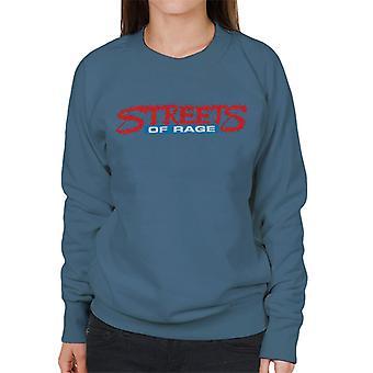 Sega Streets Of Rage Logo Women's Sweatshirt