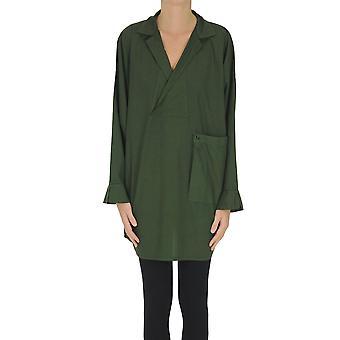 Labo.art Ezgl558003 Women's Green Cotton Shirt