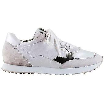 Hogl athletic white trainers womens white