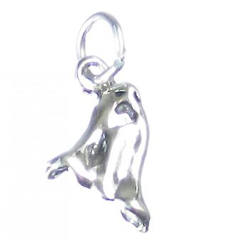 Ghost Sterling Silver Charm .925 Ghosts Spirits Haunted Halloween Charms - 3722