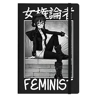 Tokyo Spirit Feminist A5 Notebook