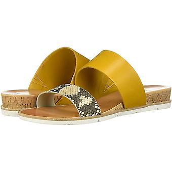 Dolce Vita Womens 190495593245 Leather Open Toe Casual Slide Sandals
