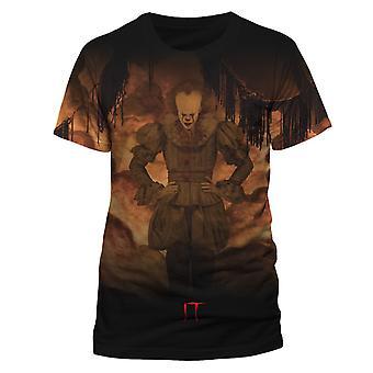 Il Unisex Adultes Flames Sublimated T-Shirt