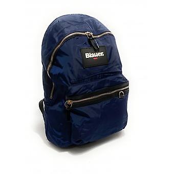 Men's Backpack Blauer Nevada Backpack Nylon Blue Navy Ub21bu03