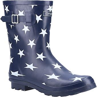 Cotswold Womens Badminton Wellington Boot Star