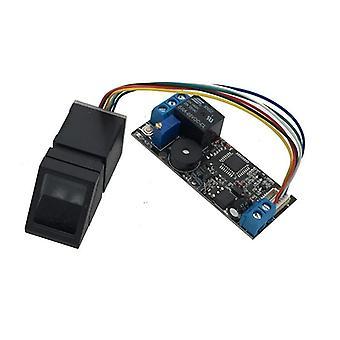 Système de contrôle d'accès à la reconnaissance des empreintes digitales à faible consommation d'énergie