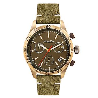 Mathey Tissot Men's Type 22 Brown Dial Watch - H1822CHLBR