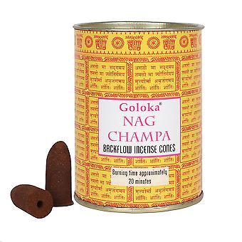 Goloka Nag Champa Incense Backflow Cones