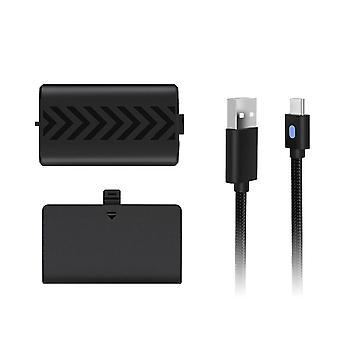 ゲーム コントローラ交換充電式バッテリー パック (充電ケーブル付き)