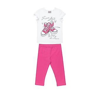 Alouette Girls' T-Shirt Set With Glitter Details And Legging