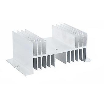 Ssr Single Phase Dc Control Dc Heat Sink / Dd Solid State Relay