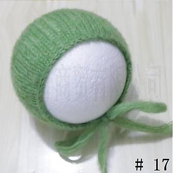 手工艺婴儿手工针织莫海尔邦纳特, 摄影道具淋浴