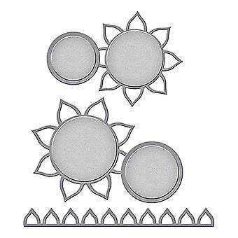 Spellbinders Cutting Dies - Sunflower Photo Holder