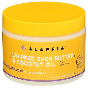 Alaffia Whipped Shea Butter & Coconut Oil Wild Lavender
