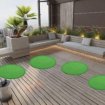 vidaXL tekonurmi näppylöitä 95 cm vihreä pyöreä