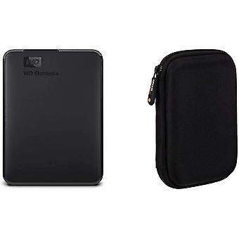 Wokex WD Elements Portable, Externe Festplatte - 2 TB - USB 3.0 - WDBU6Y0020BBK-WESN Amazon Grundlagen